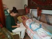 Организованы медицинские осмотры пожилых пациентов на дому
