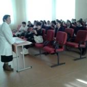 В ООШ №195  проведены занятия по профилактике Вирусного гепатита А