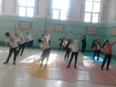 Проведено спортивное мероприятие среди школьников, приуроченное к Европейской недели иммунизации