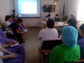 Проведены ряд семинарских занятий на темы «Корь», «Вирусный гепатит А»
